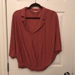 Anthropologie flowy shirt